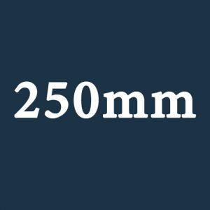 250mm